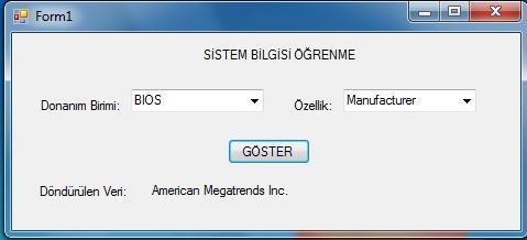 sistem bilgisi