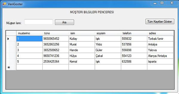 datagridview