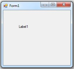 c# form label