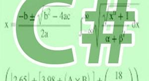 csharp math