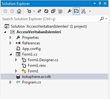 Access Solution Explorer