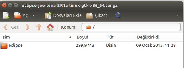ubuntu arşiv yöneticisi