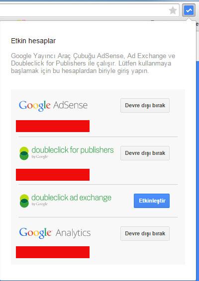 google hesapları etkinleştirme