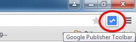 google yayıncı eklentisi simgesi