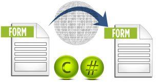 c# formlar arası veri transferi
