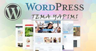 wordpress tema yapımı